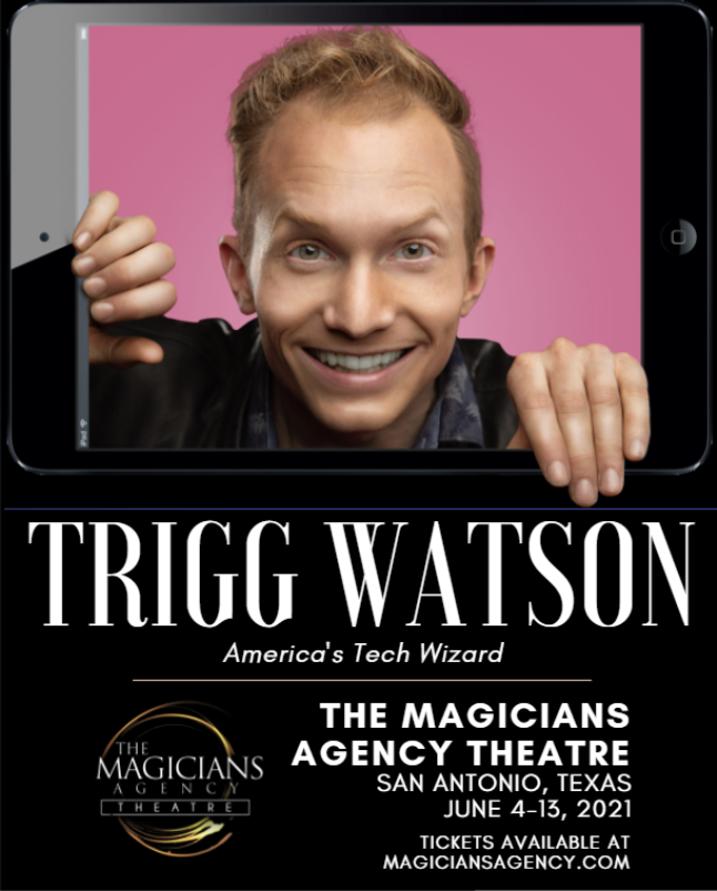 Headlining at the Magician's Agency Theatre