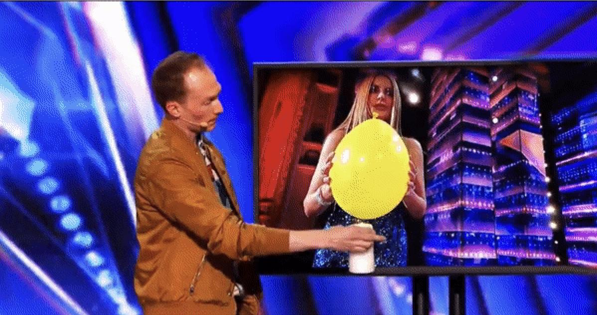 Trigg featured in America's Got Talent